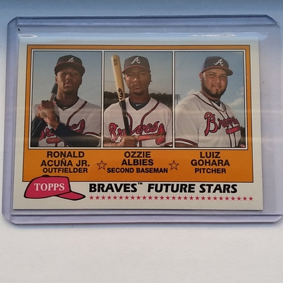 2018 Topps Archives Ronald Acuna Jr